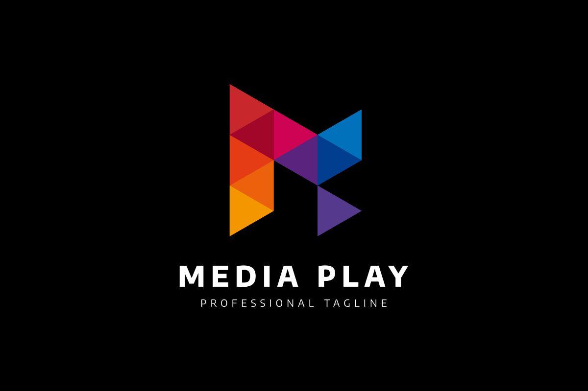 Media Play Logo example image 3