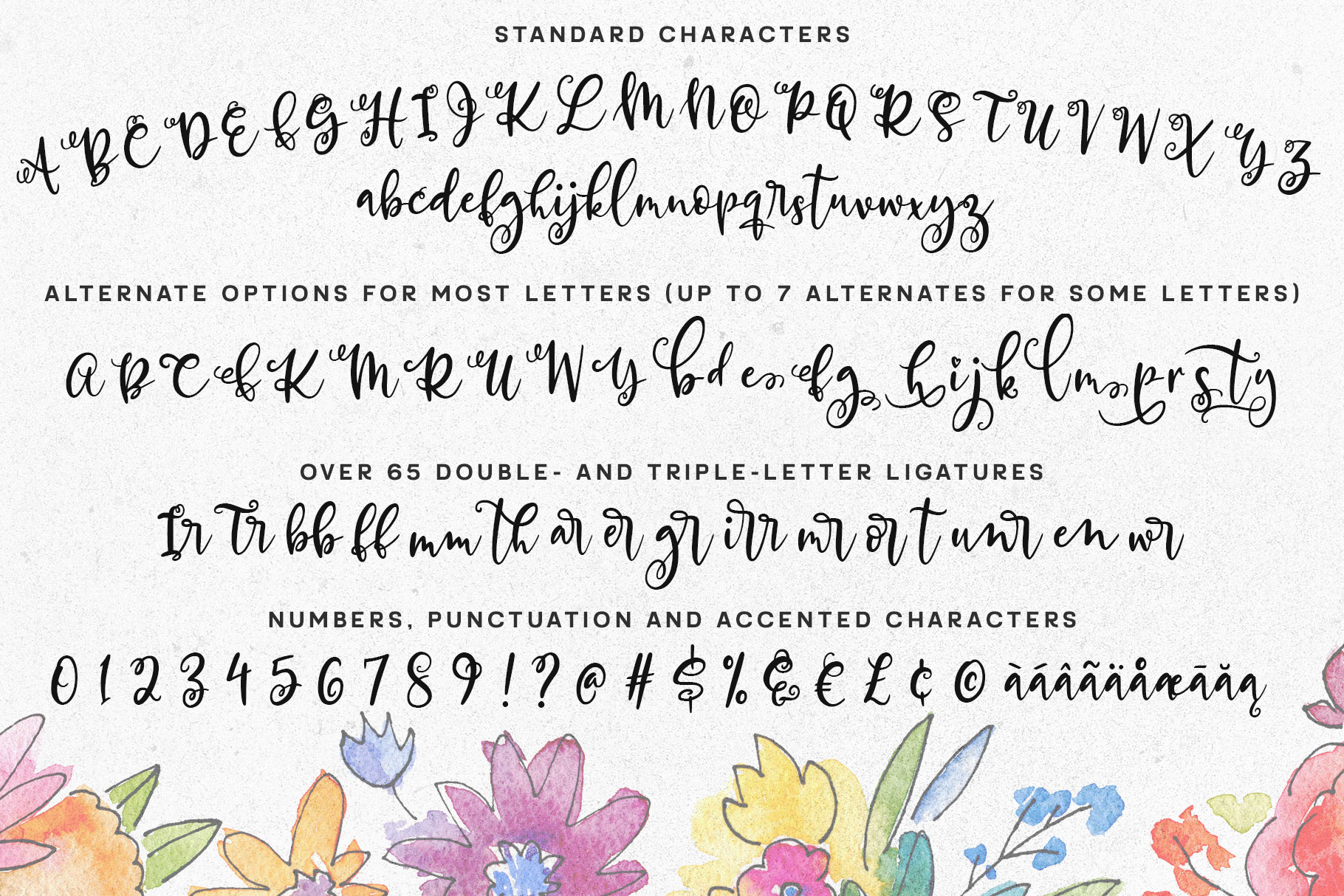 Allegory - a fun and curly script font! example image 2