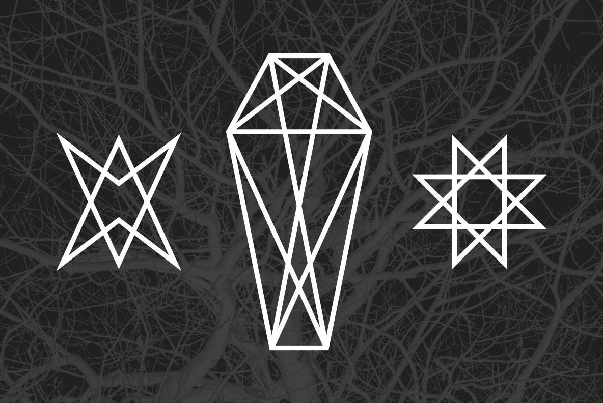 24 Occult Symbols Plus 4 Free Photos example image 2