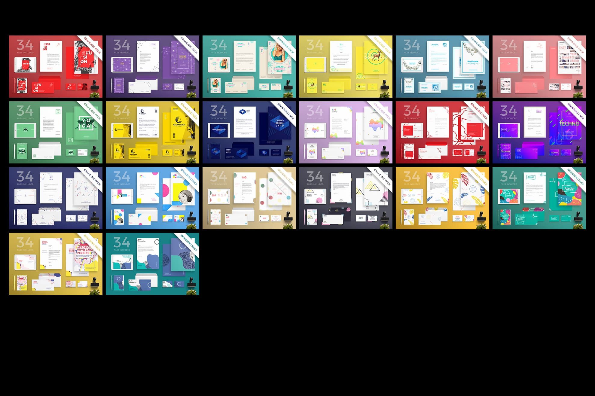 Brand Identity Design Templates Bundle SALE example image 7