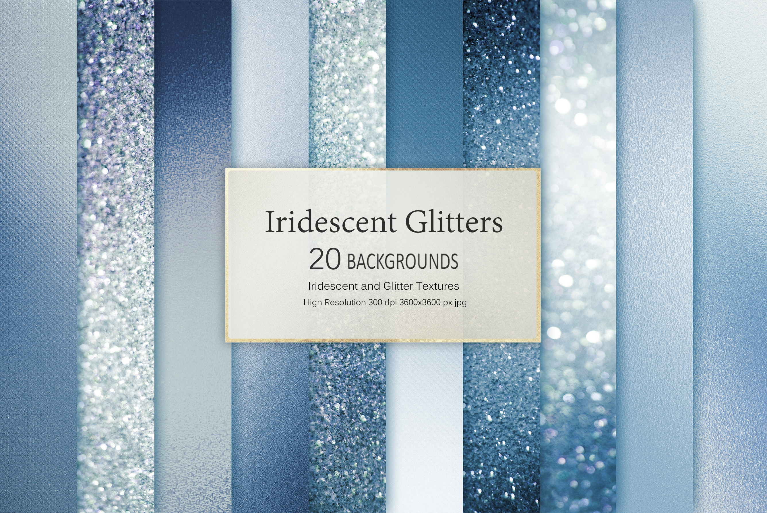 Iridescent and Glitter 180 Textures BUNDLE example image 13