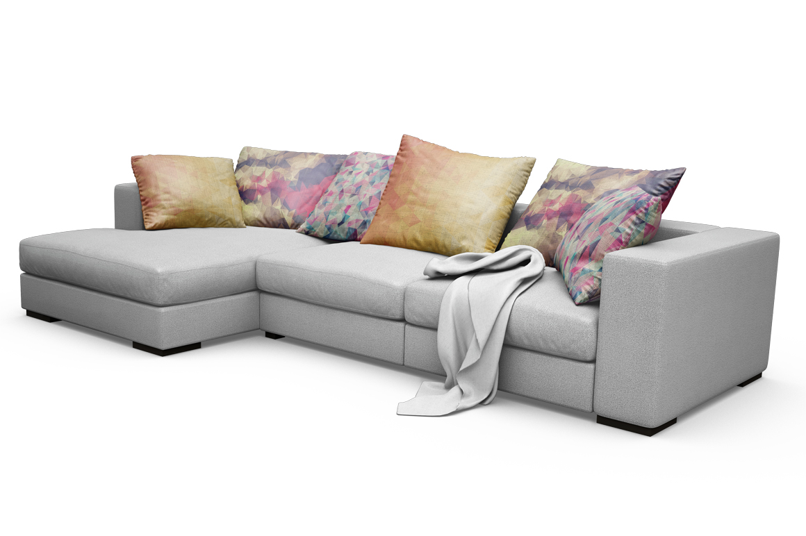 Sofa-Pillows Mockup example image 14