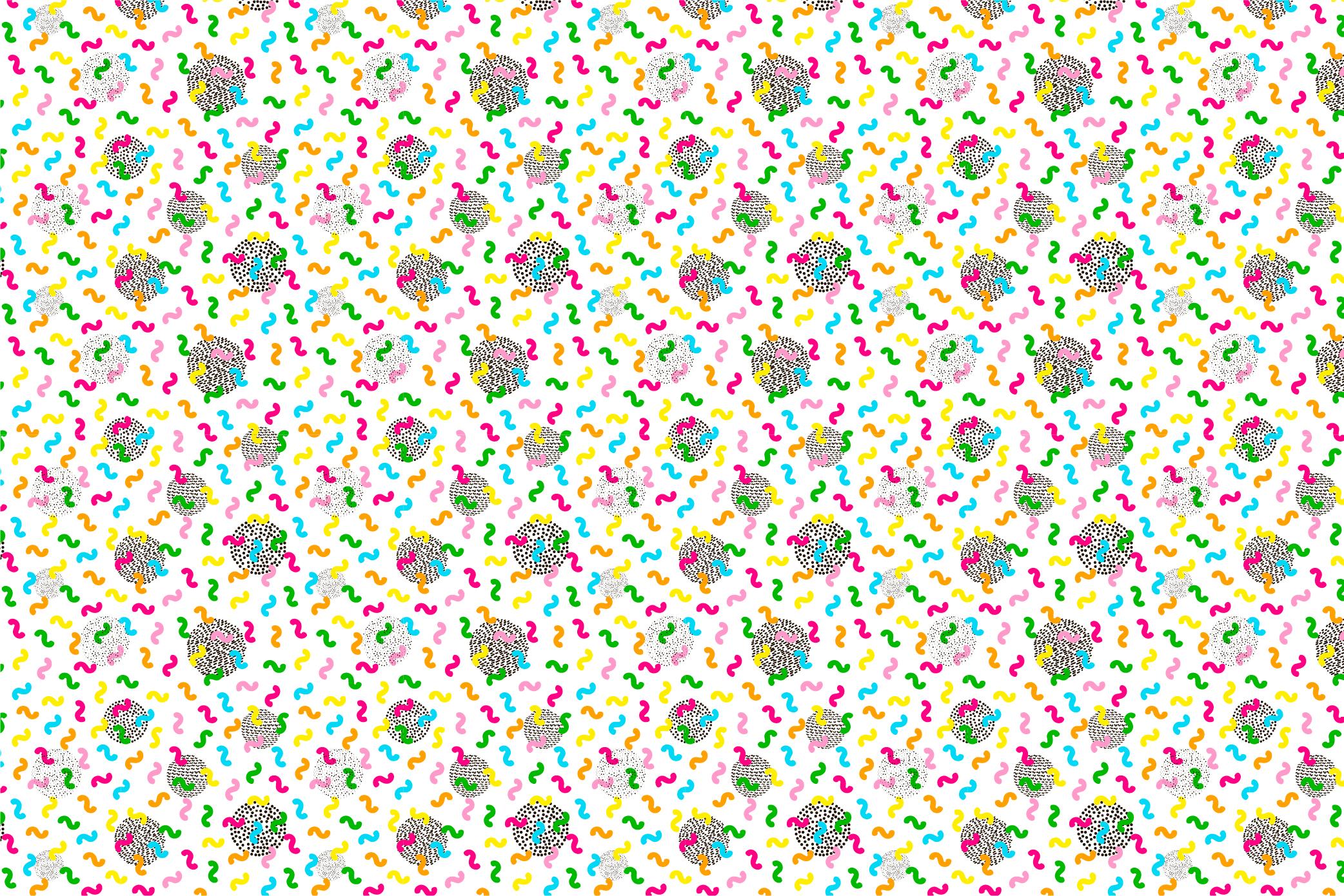 9 Geometric seamless patterns. Ai, EPS, JPG, SVG example image 6