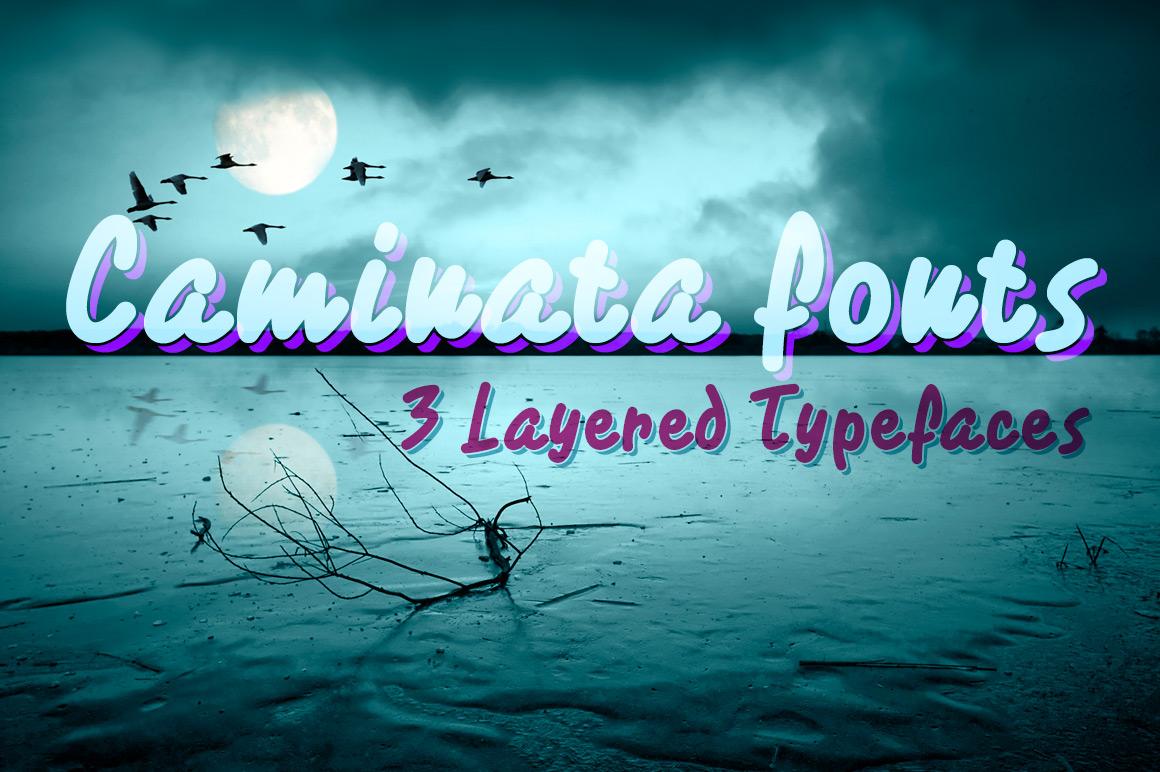 Caminata fonts example image 4