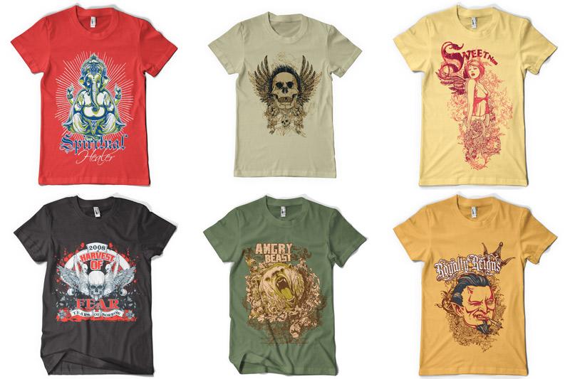 100 T-shirt Designs Vol 2 example image 15