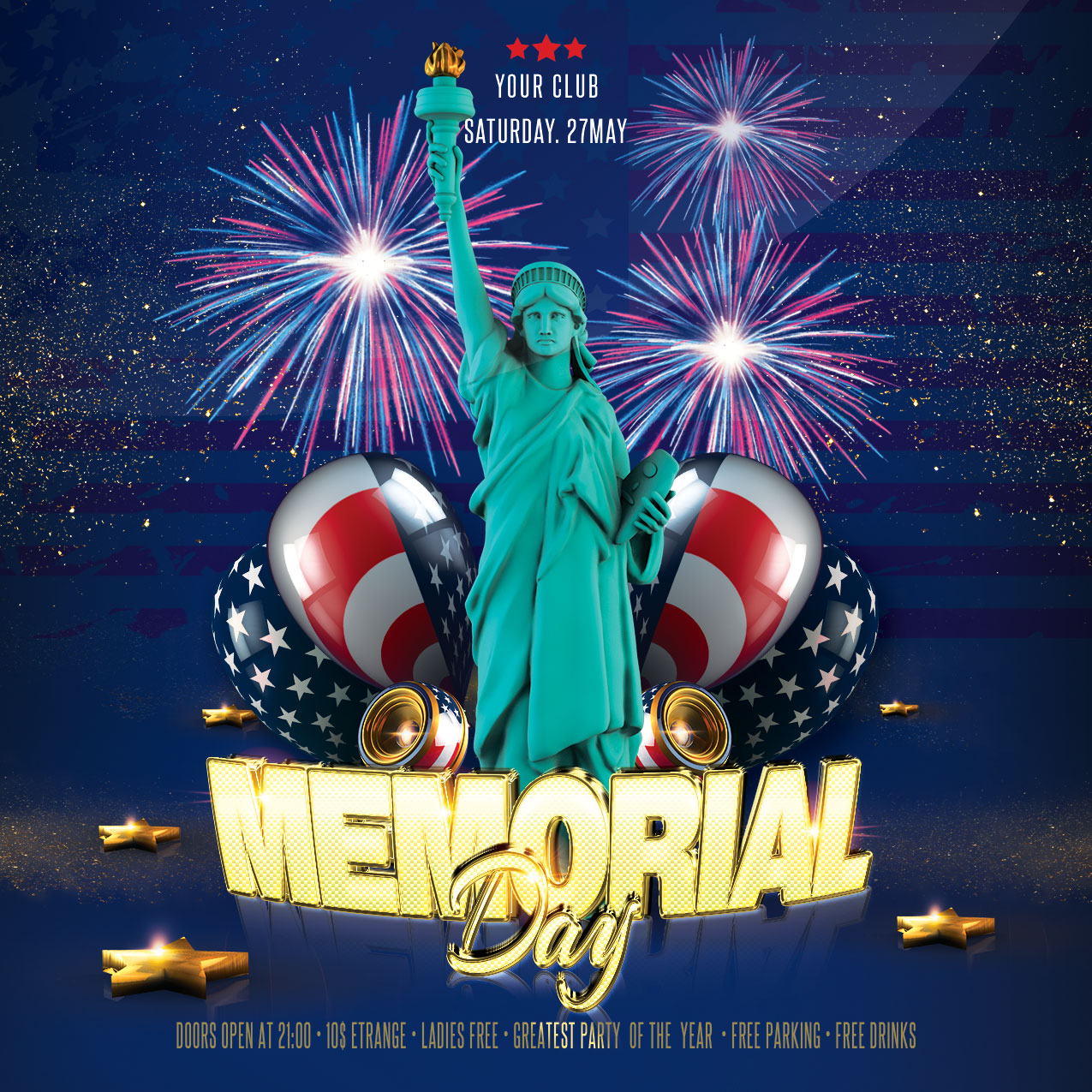 Memorial Day Flyers example image 4