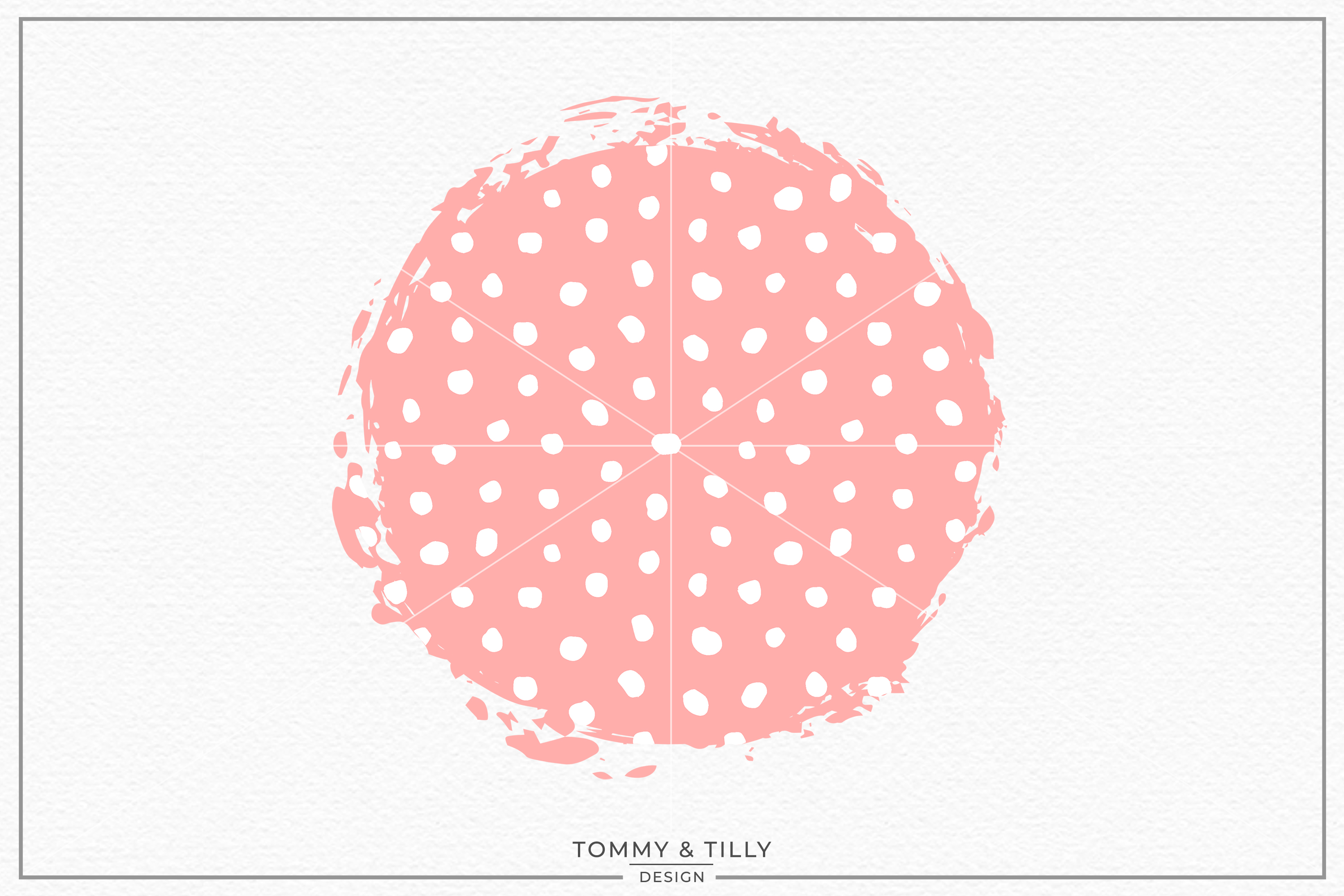 Spotty Background- Sublimation PNG Clipart example image 1