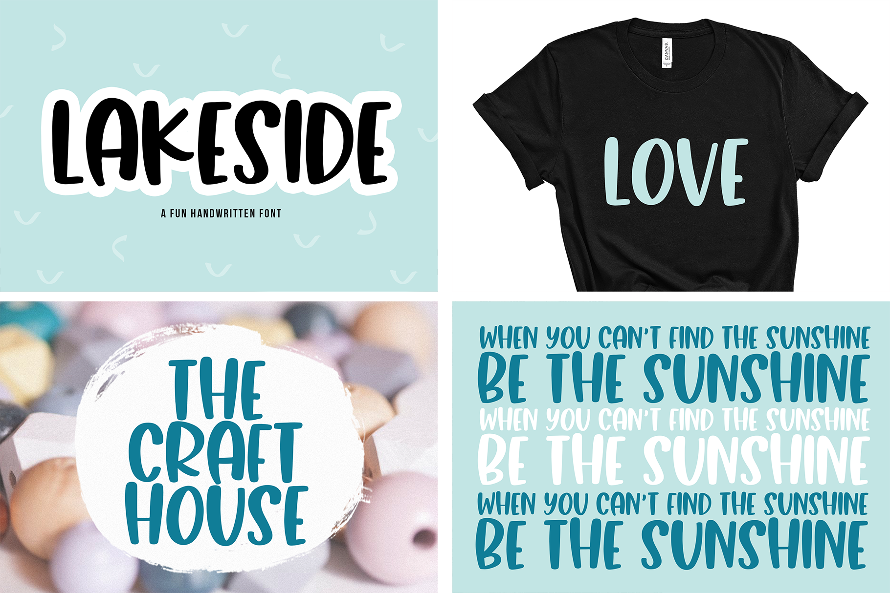 The Mini Crafty Bundle - 10 Fun & Quirky Fonts example image 5