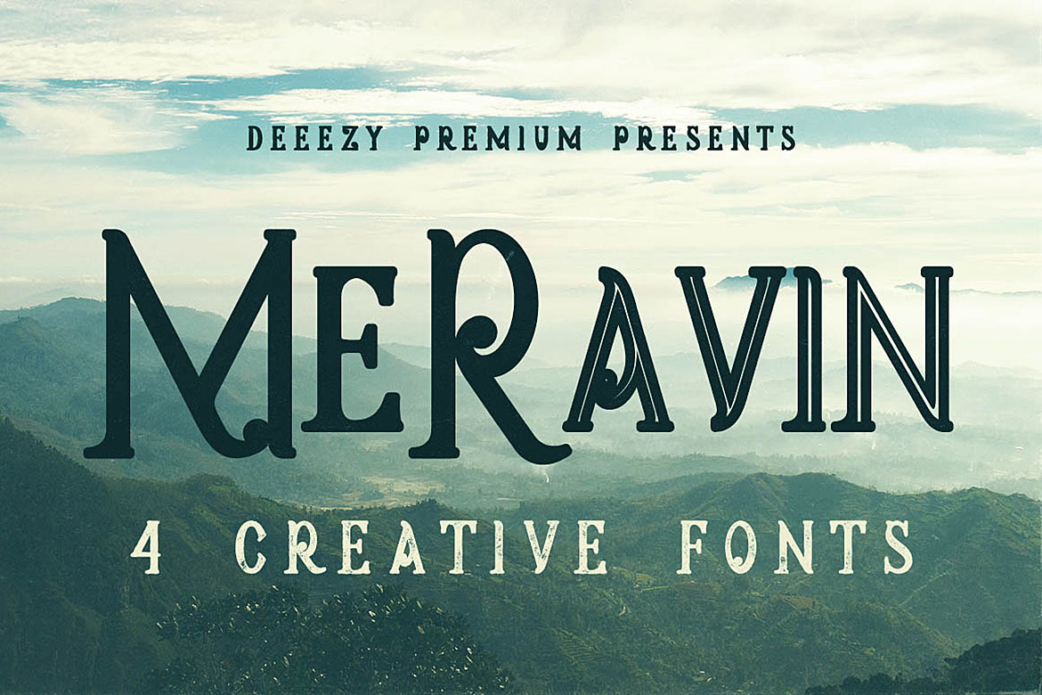 5 Fonts Bundle 1 example image 2
