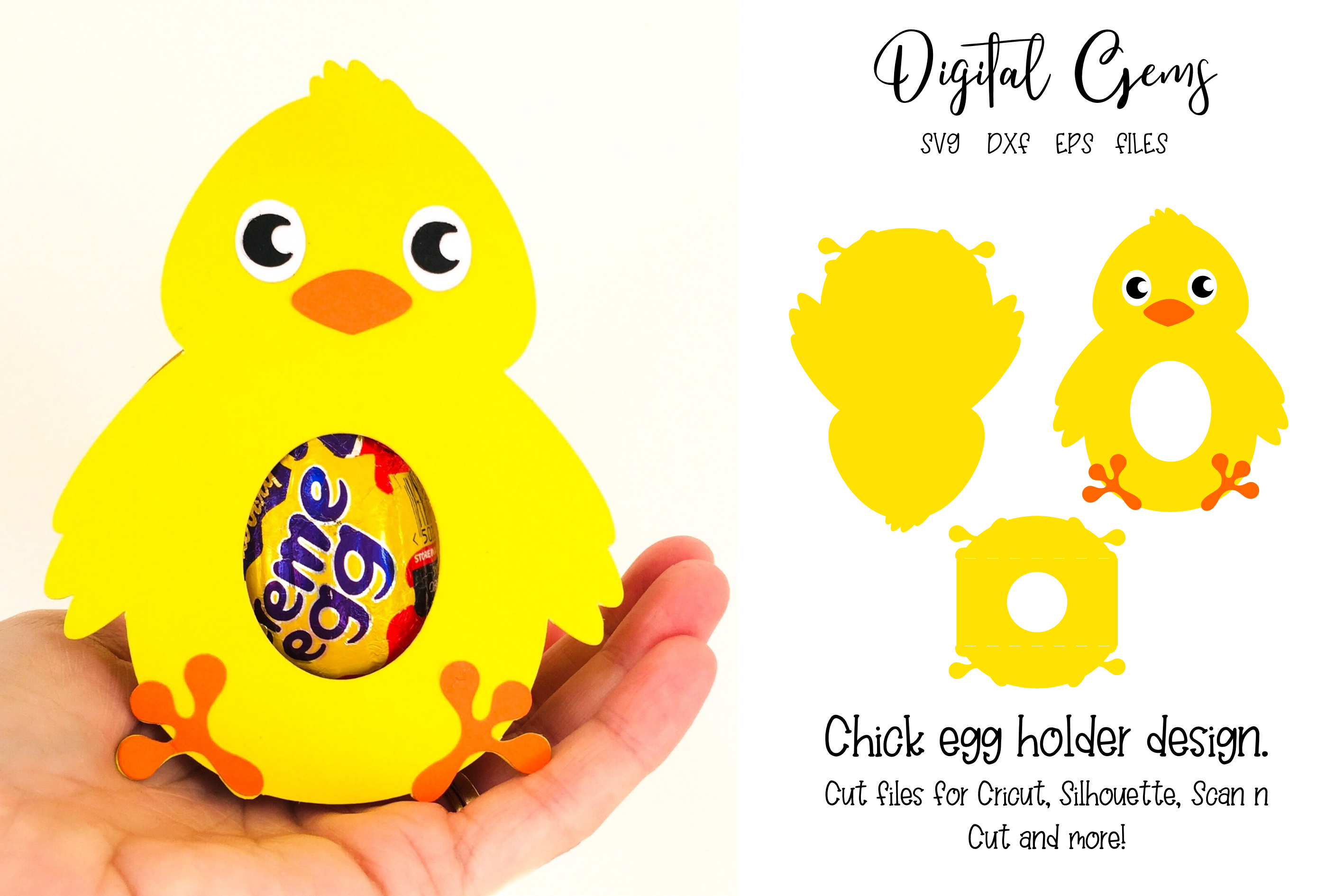 16 Animal egg holder designs - The complete set!!!! example image 10