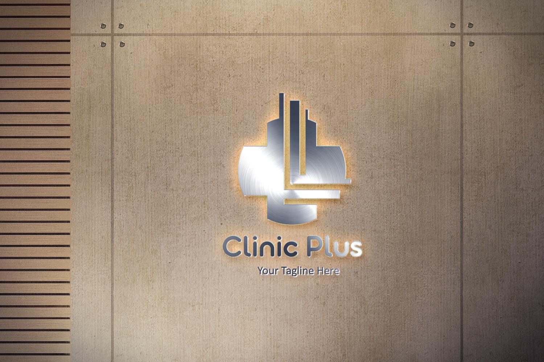 L letter Plus medical logo example image 2