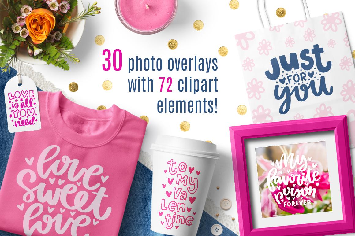 30 Valentine's Day Overlays! example image 2