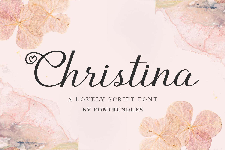 Christina example 1