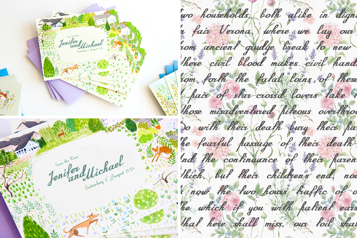 Annabel Script Typeface example image 2