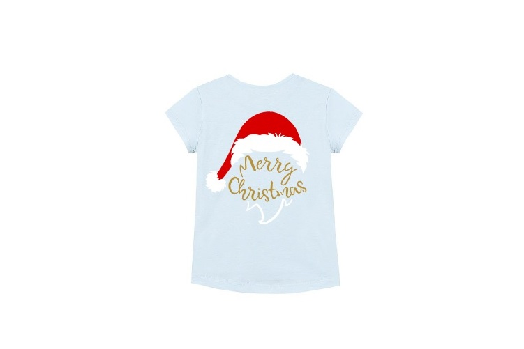 Merry Christmas Svg, Santa Hat Svg, Christmas Svg example image 2