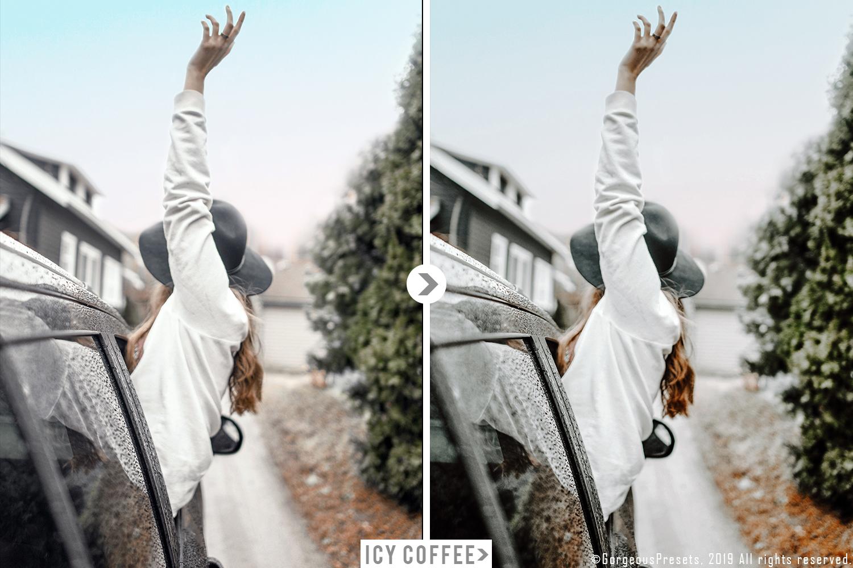 Mobile Lightroom Preset ICY COFFEE example image 8