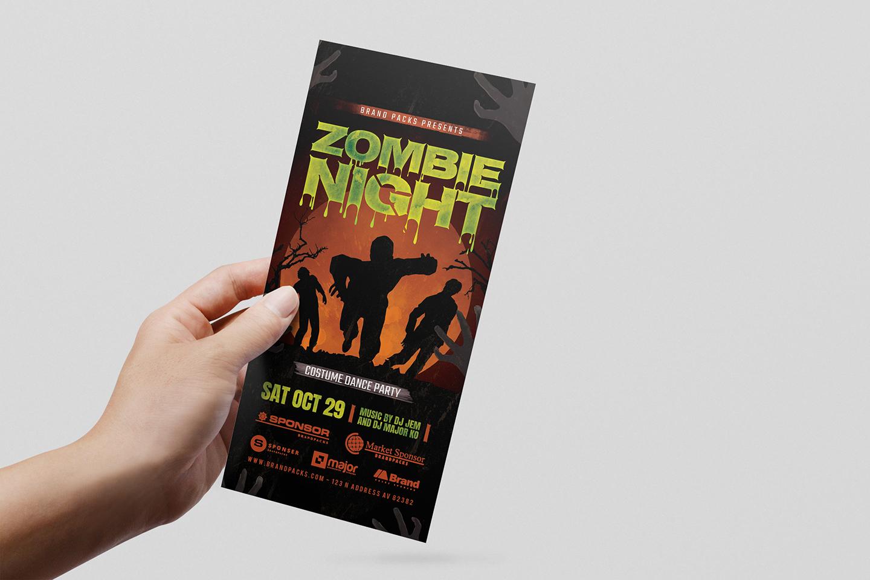 Halloween Flyer Template example image 8