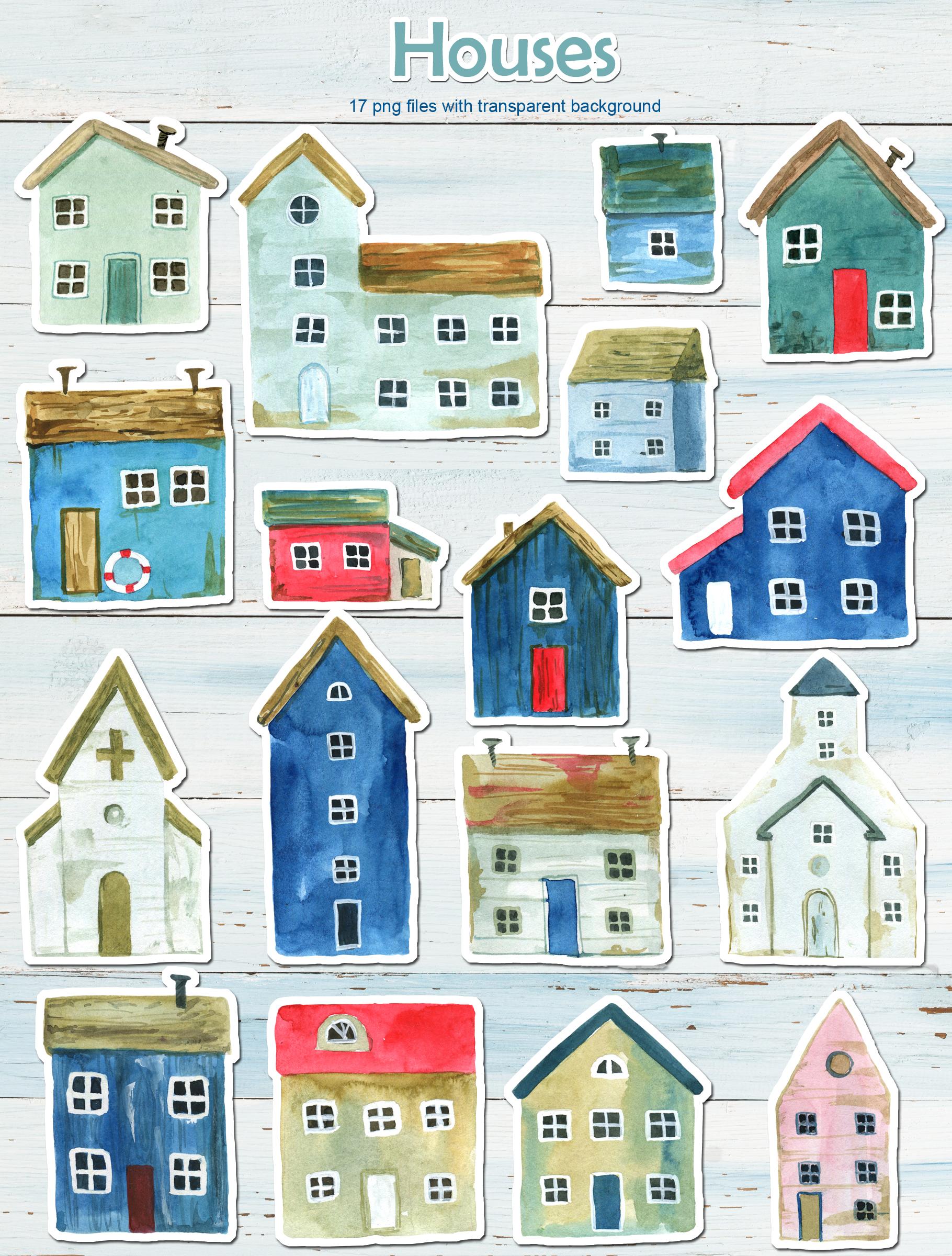 Sea dreams. Watercolor illustration example image 5