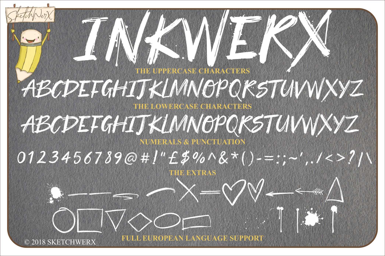 InkWerx Font & Extras example image 7
