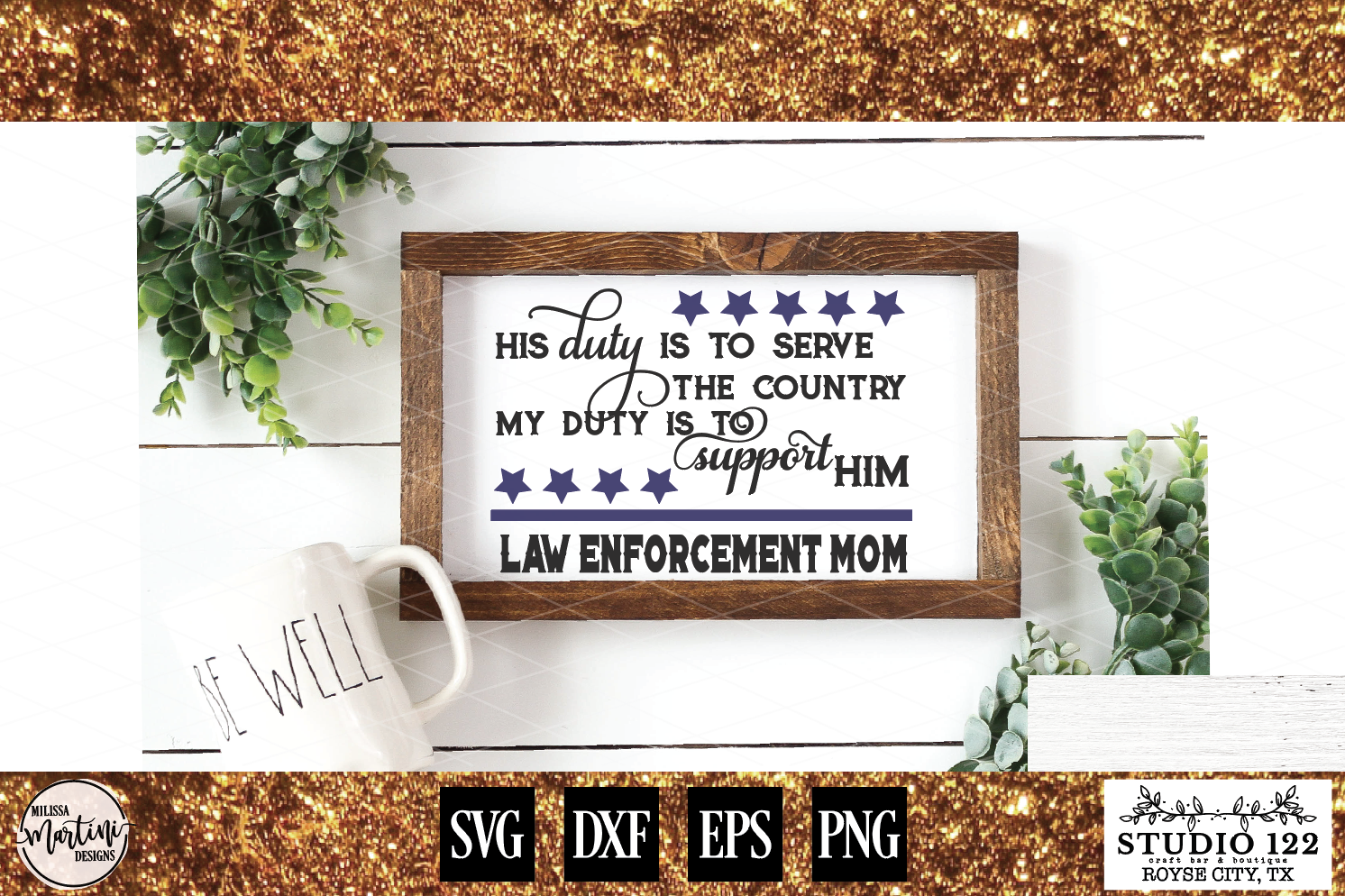LAW ENFORCEMENT MOM example image 1