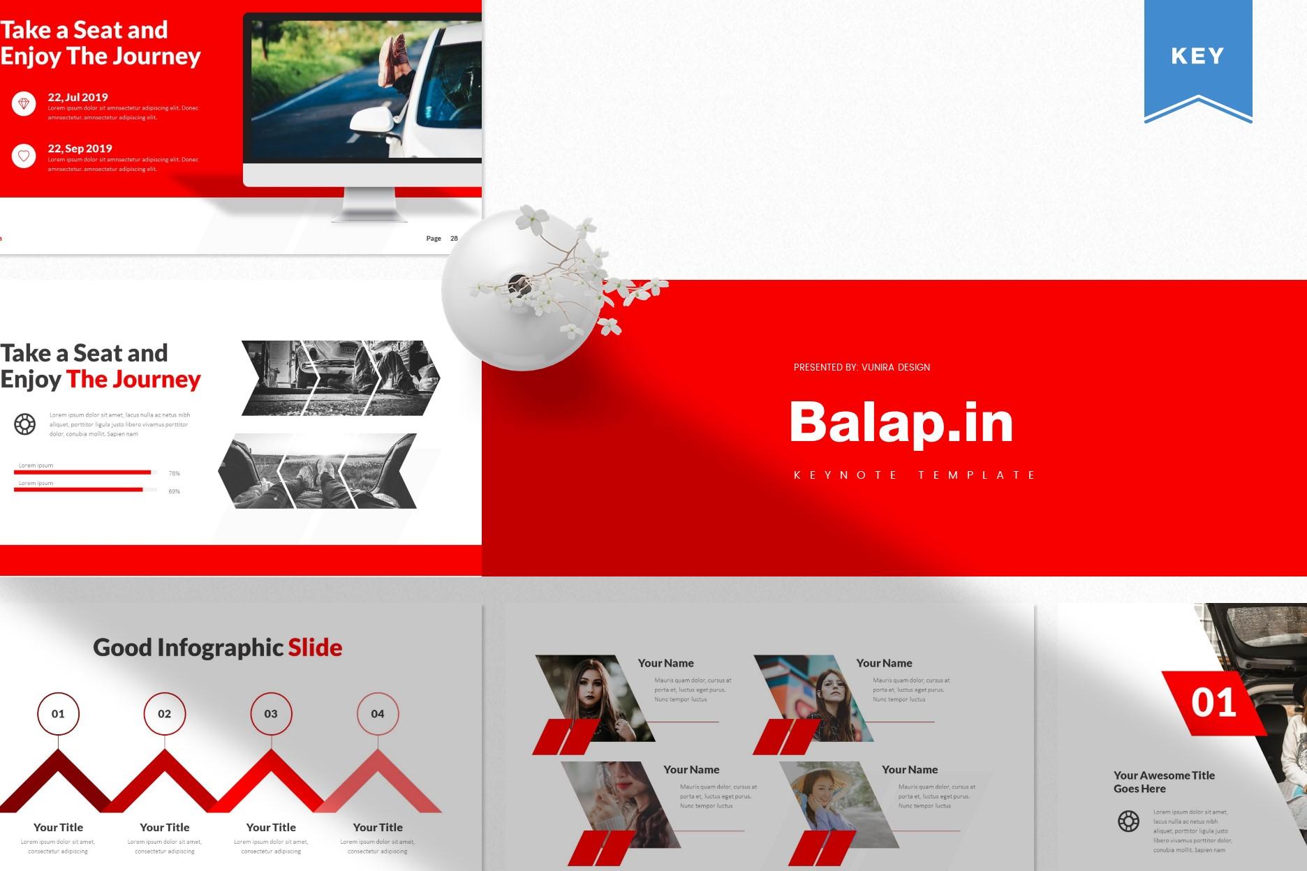 Balapin | Powerpoint, Keynote, GoogleSlides Template example image 2