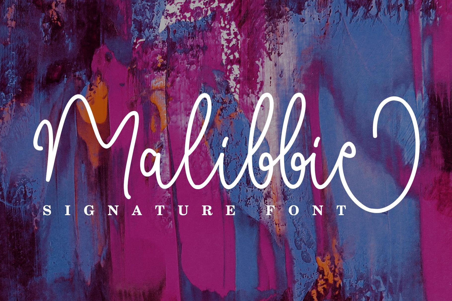 Malibbie Signature example image 1