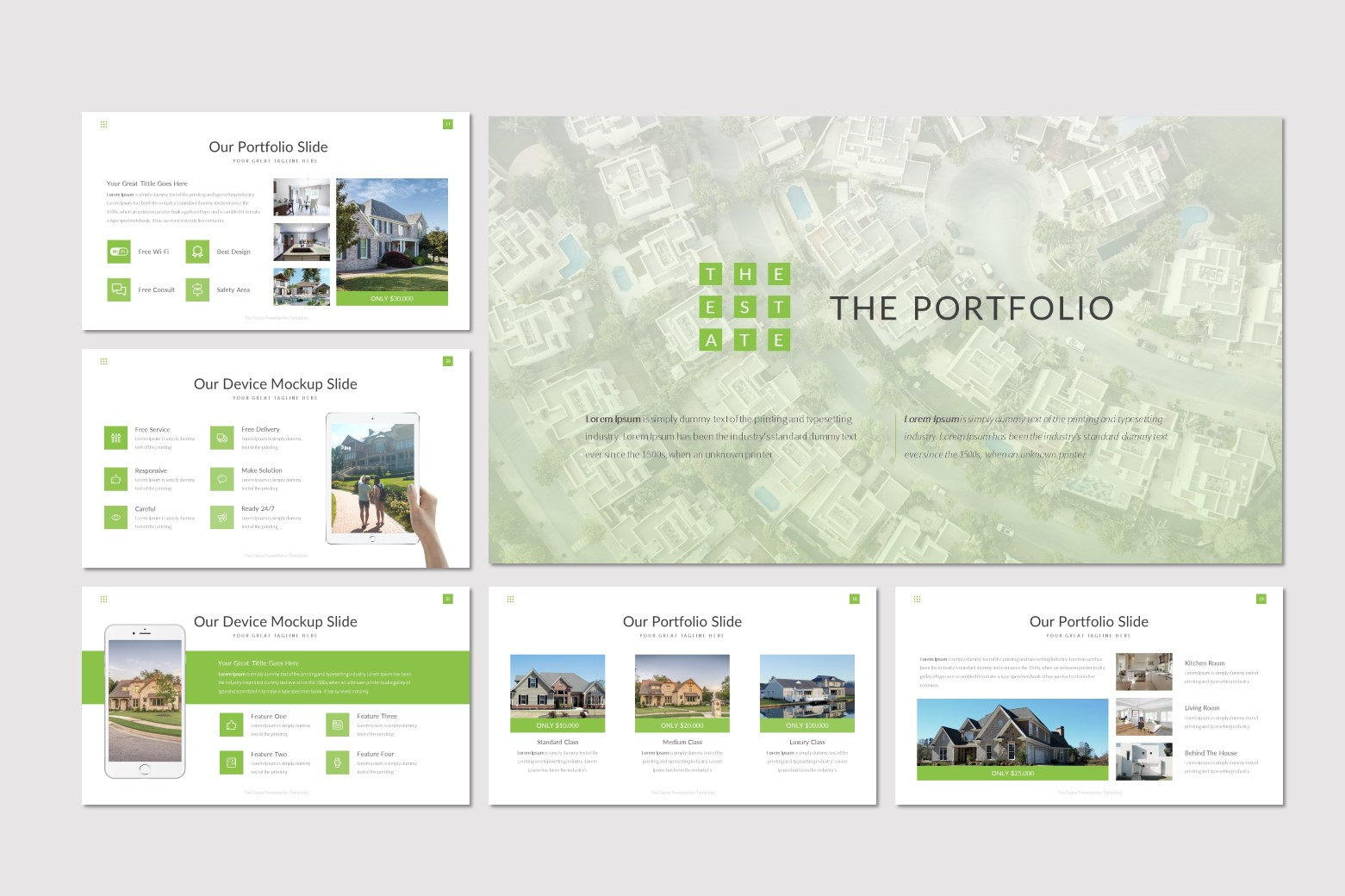 The Estate - Keynote Template example image 4