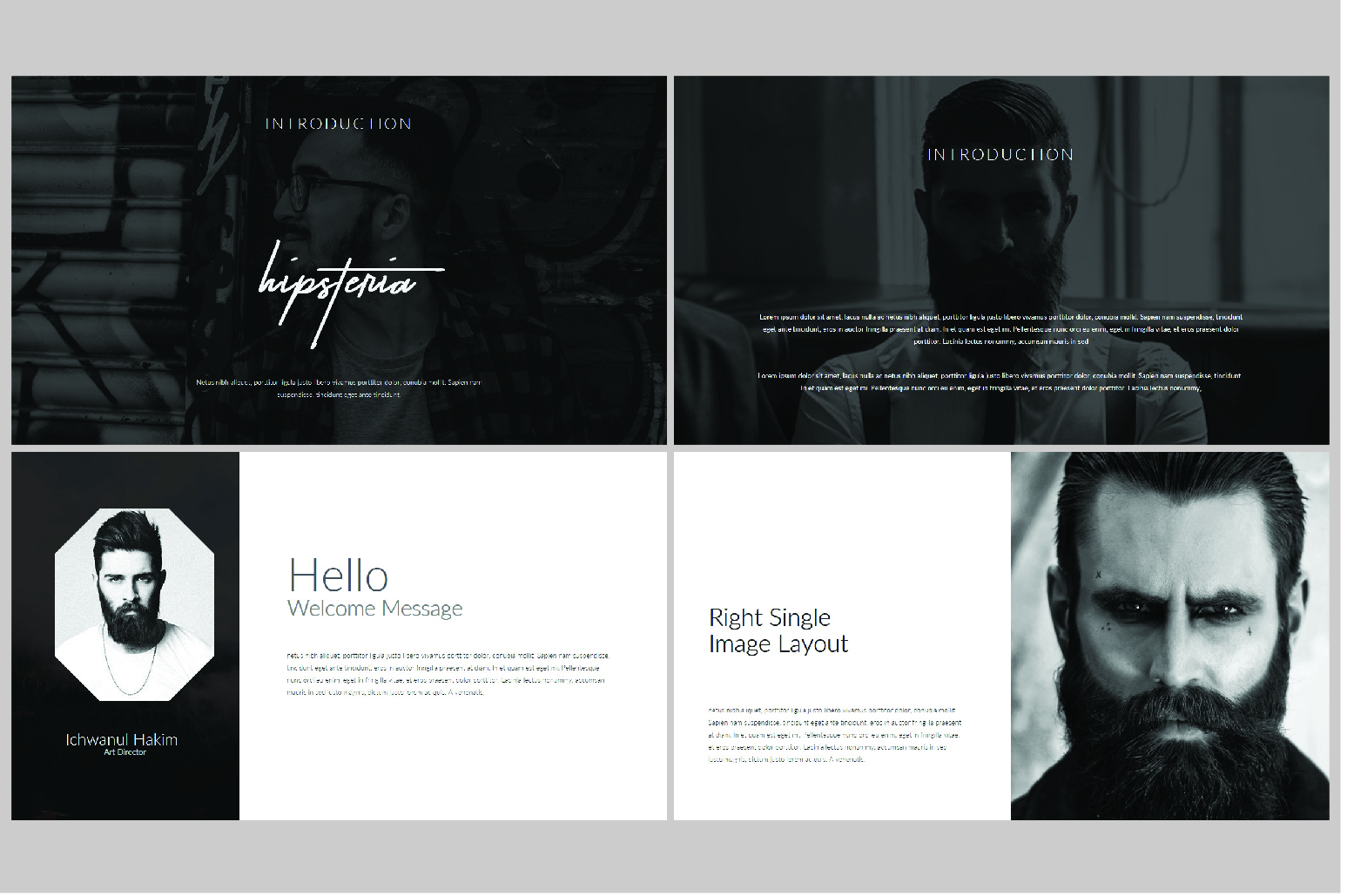 Hipsteria Business Keynote Template example image 3
