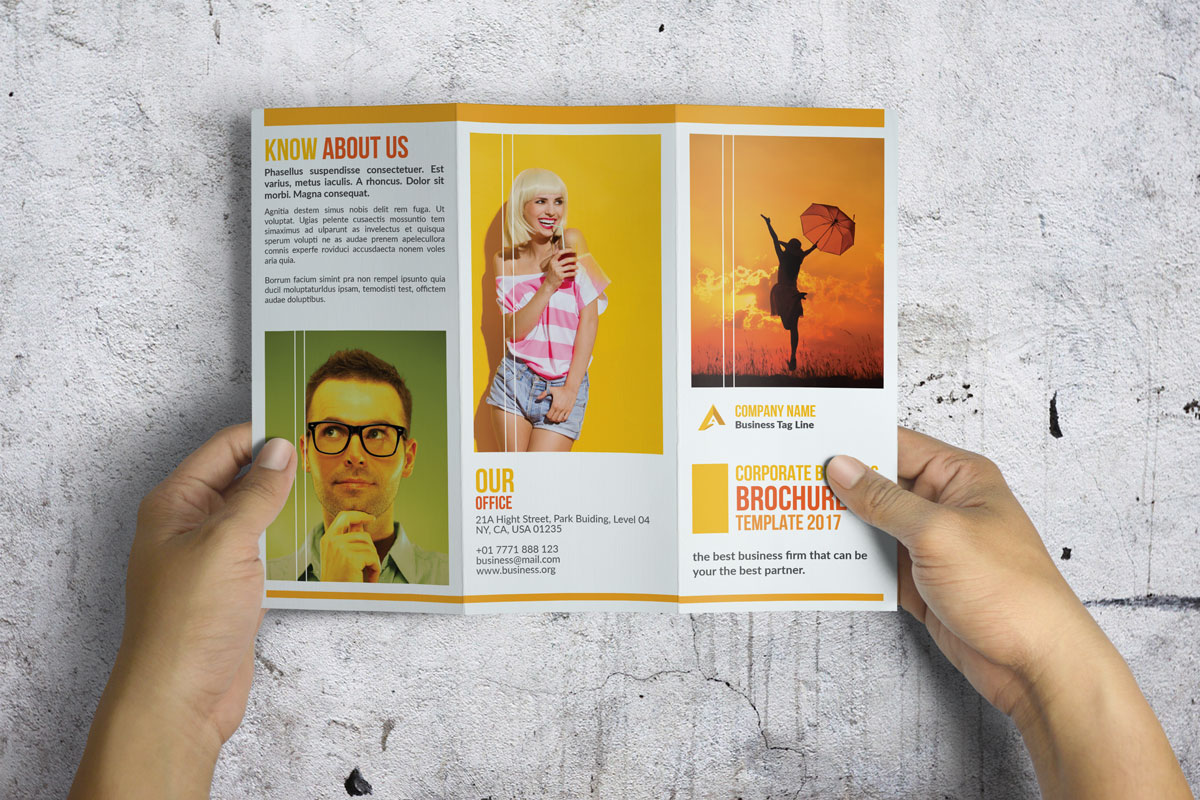 Trifold Corporate Brochure example image 1
