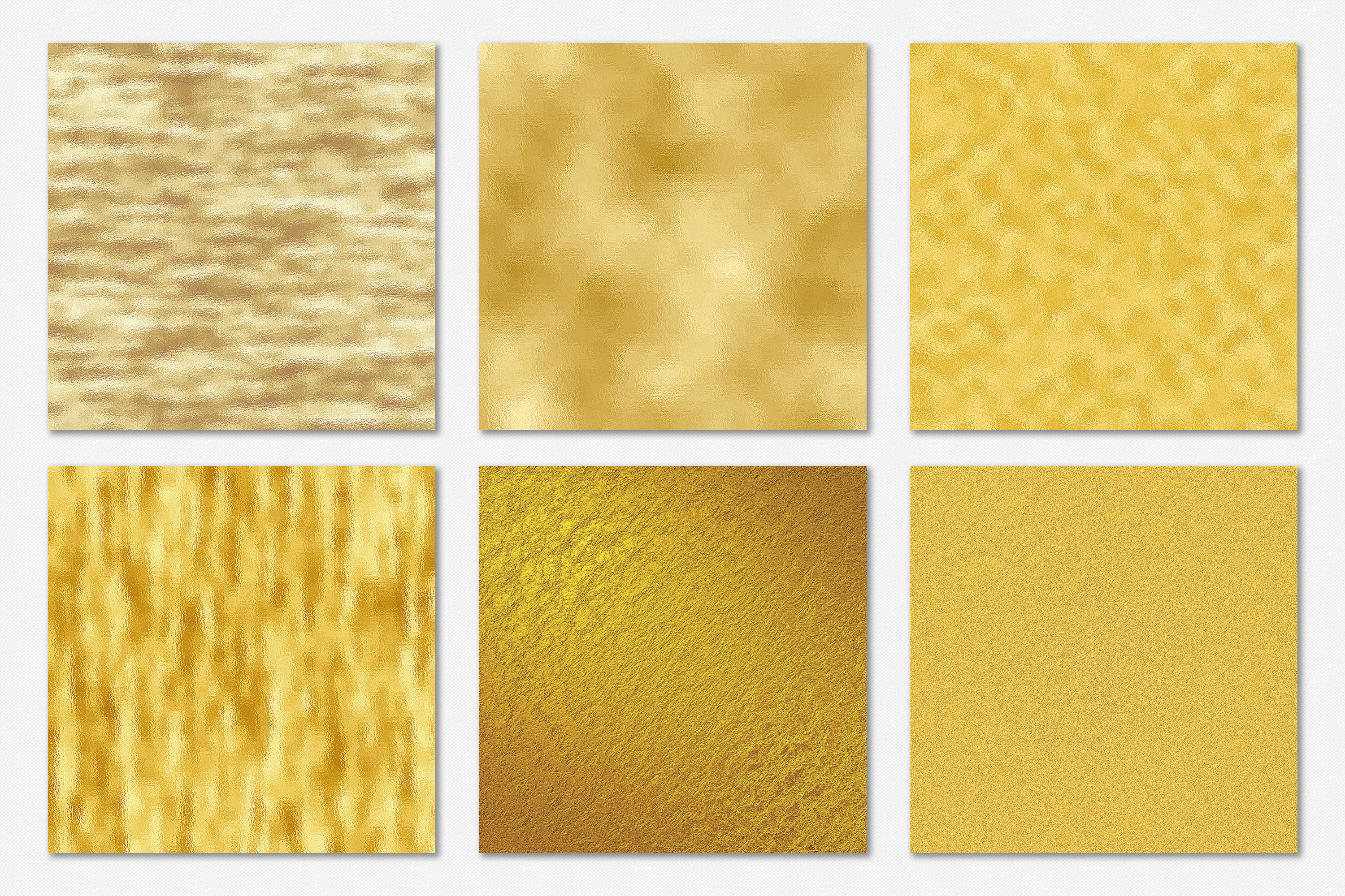Gold Foil and Glitter Textures - Metallic Digital Papers example image 12