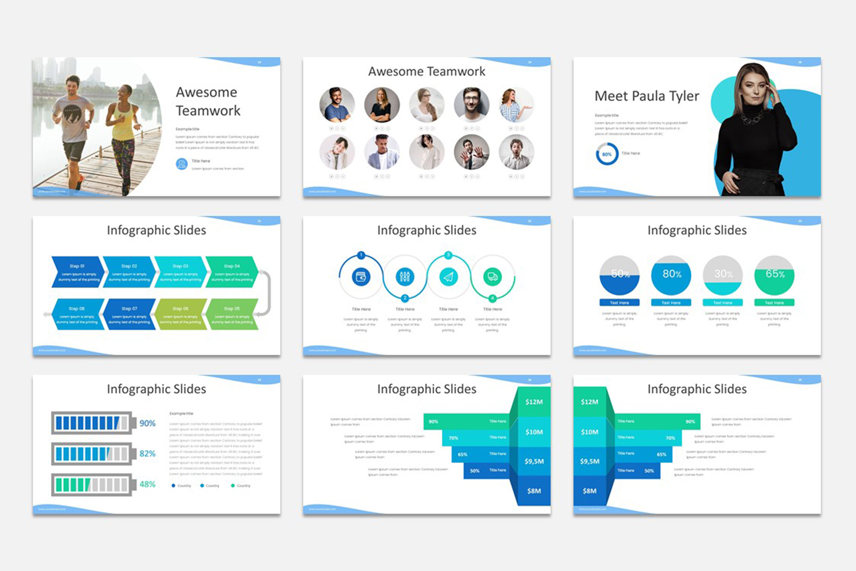 Milde - Multipurpose Google Slides Presentation Template example image 2