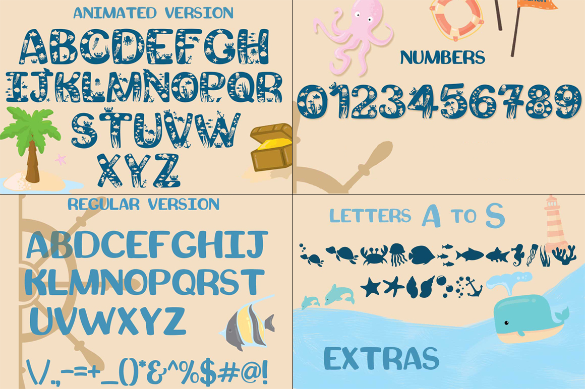 Squishy - A Beach Craft Font example image 2