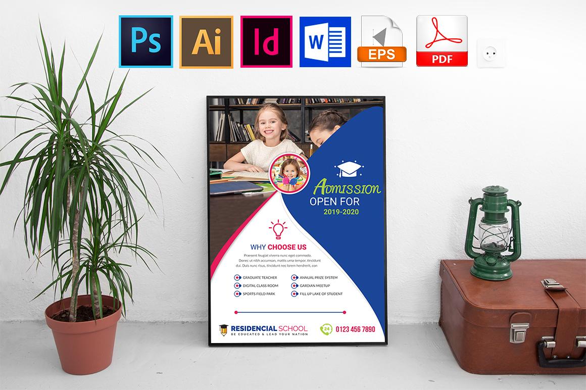 Poster | School Vol-02 example image 1