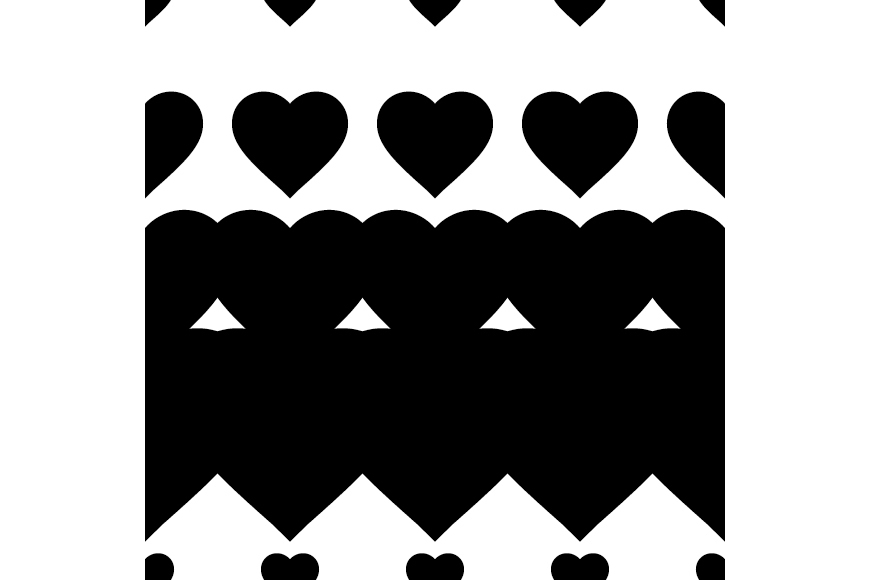 Set of 12 backgrounds with Hearts on Valentine's Day. example image 10