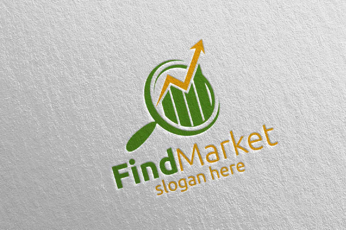 Find Marketing Financial Advisor Logo Design Template 14 example image 4