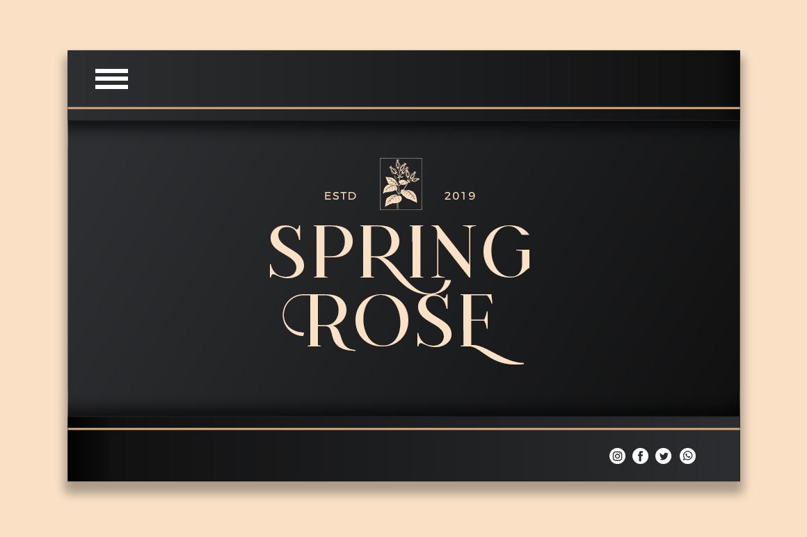 Konseric   Luxury Serif Font example image 12