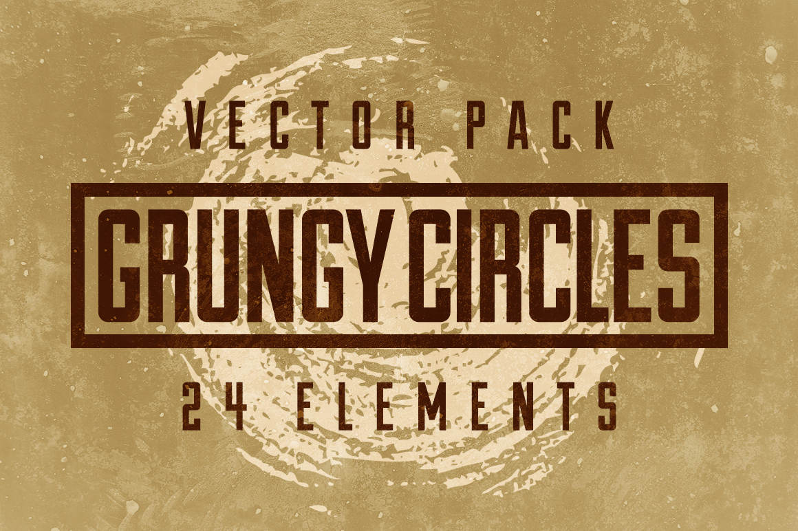 24 Grungy Circles example image 3
