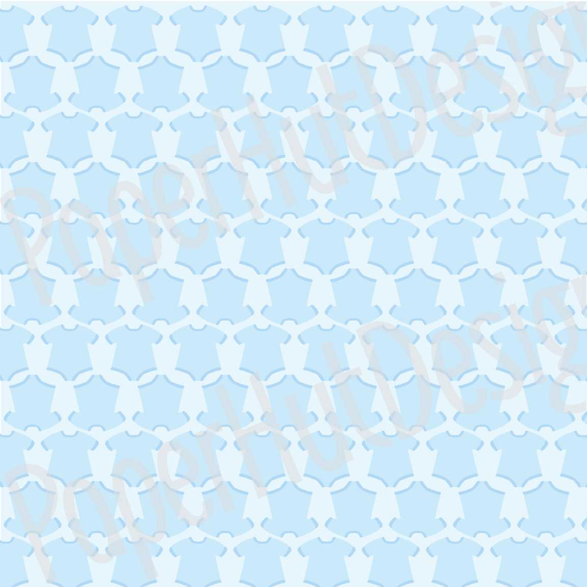 Baby Boy Clipart and Digital Papers Set example image 4