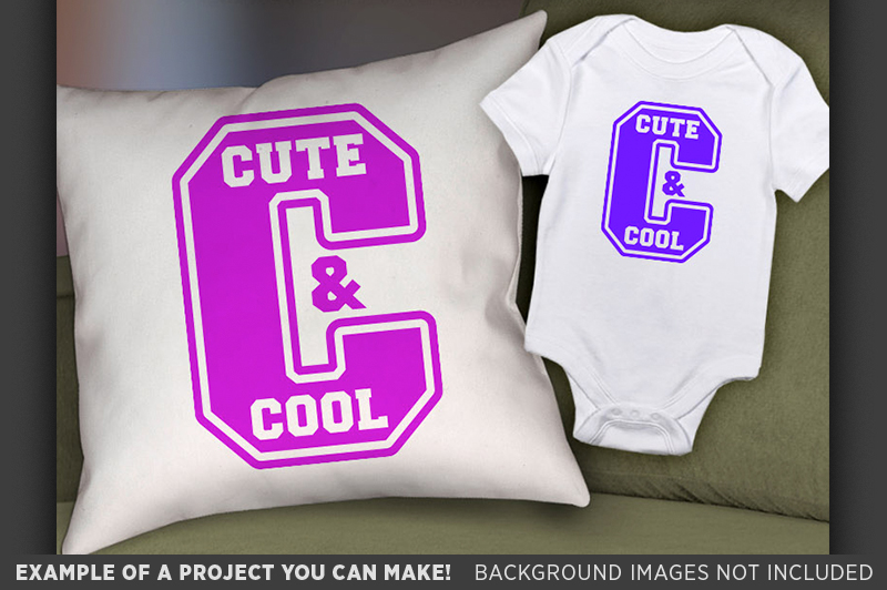 Cute and Cool SVG - Cute Kids T-Shirt SVG - 1083 example image 2