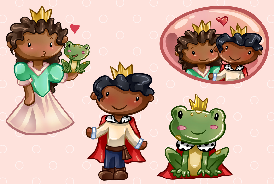 Frog Prince Clip Art Collection example image 4