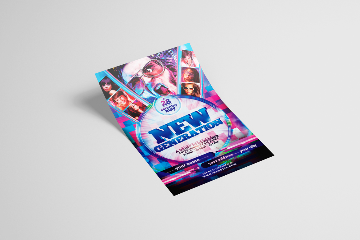 New Generation Flyer Template example image 3