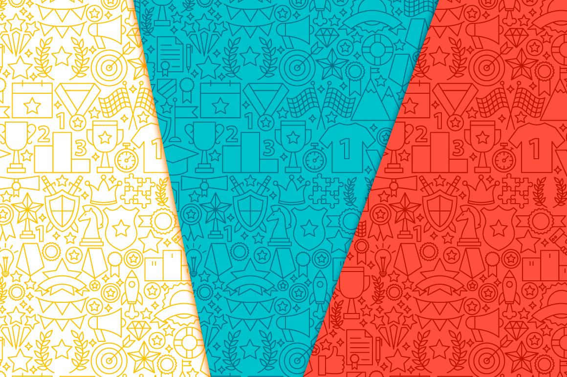 Award Line Tile Patterns example image 5