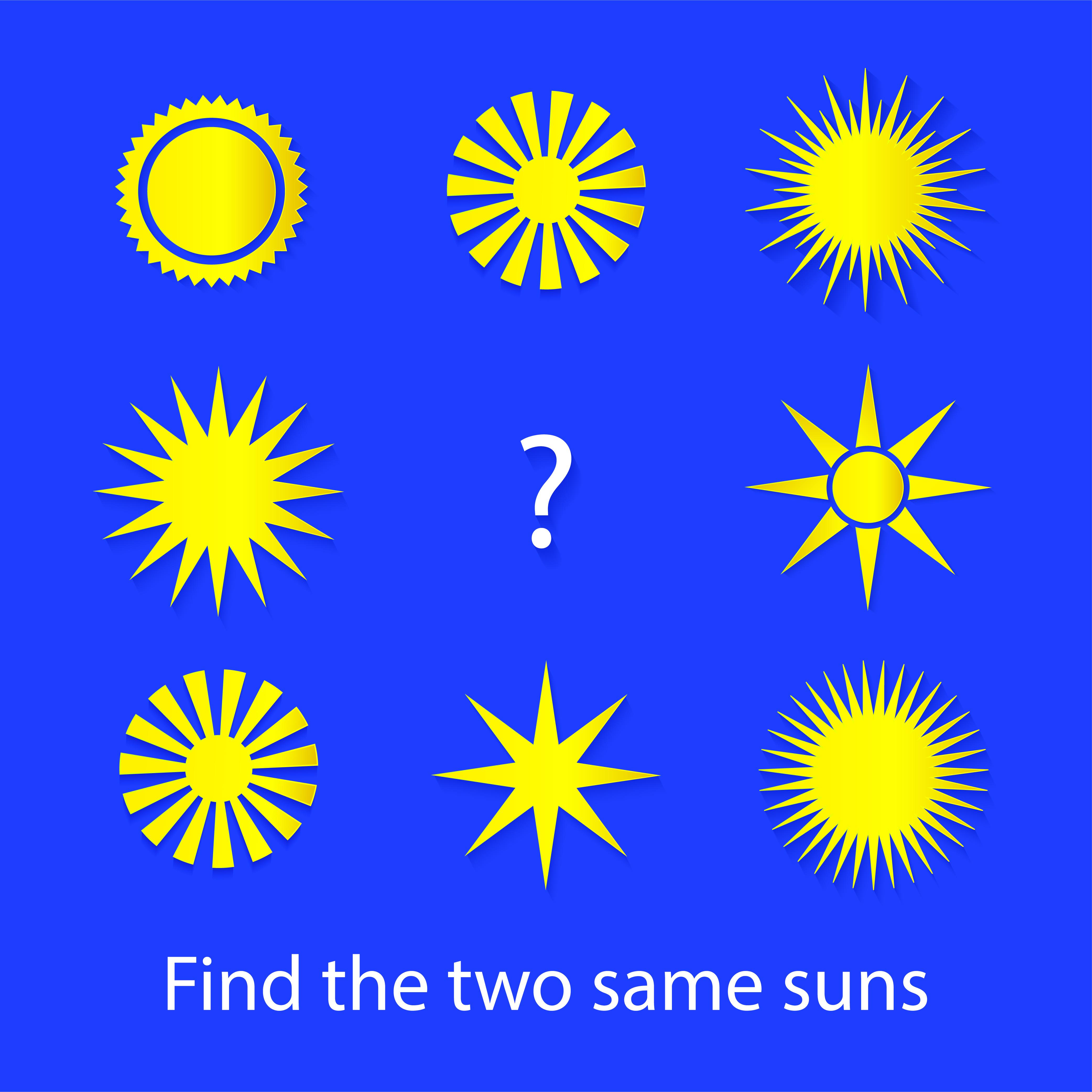 Easy preschool educational brainteasers set example image 22