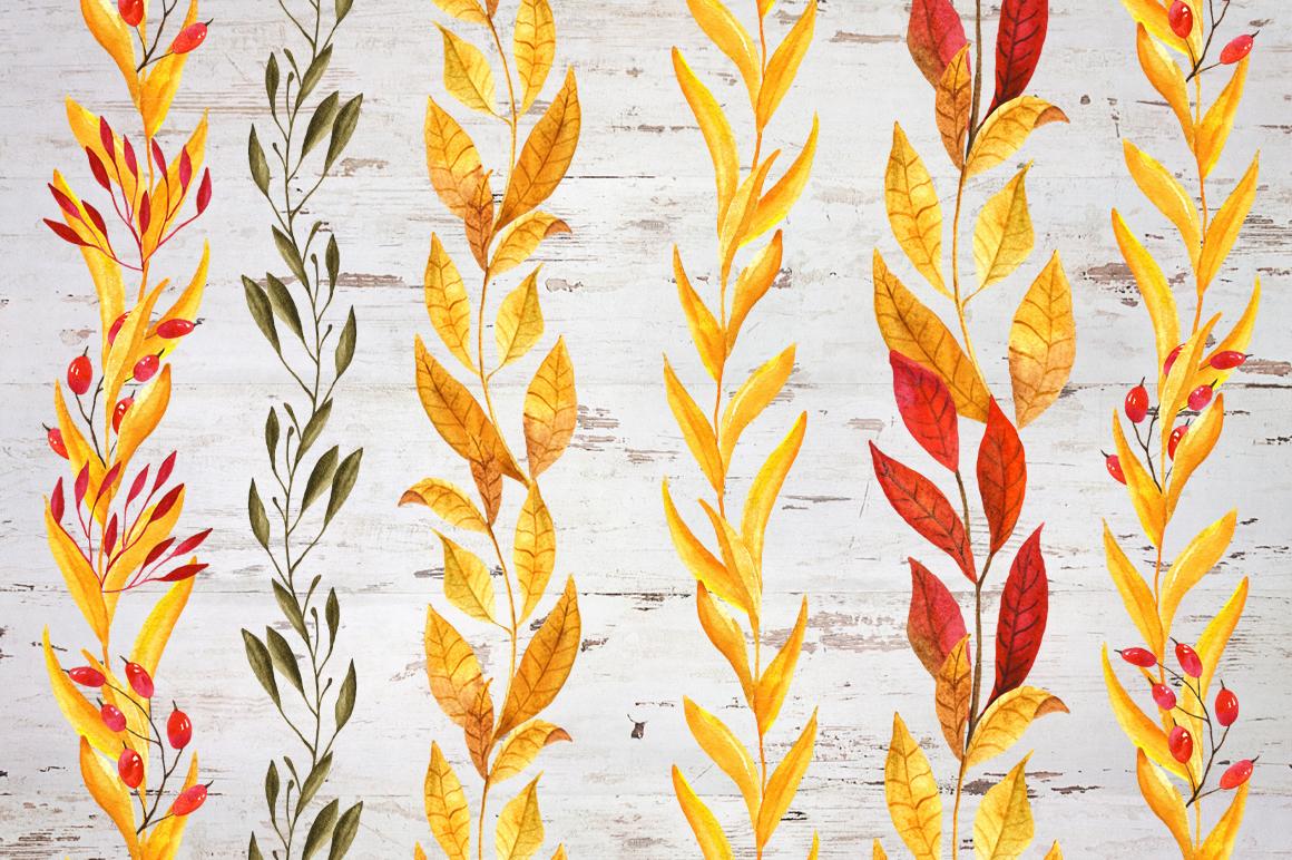 Watercolor pumpkin example image 9
