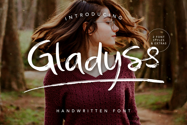 Gladyss Handwritten Font example image 1