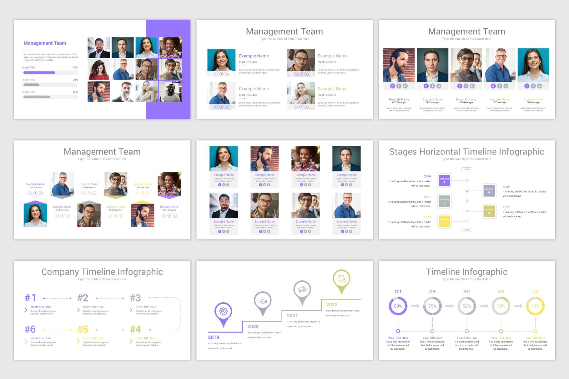 Company Profile Keynote Template example image 13