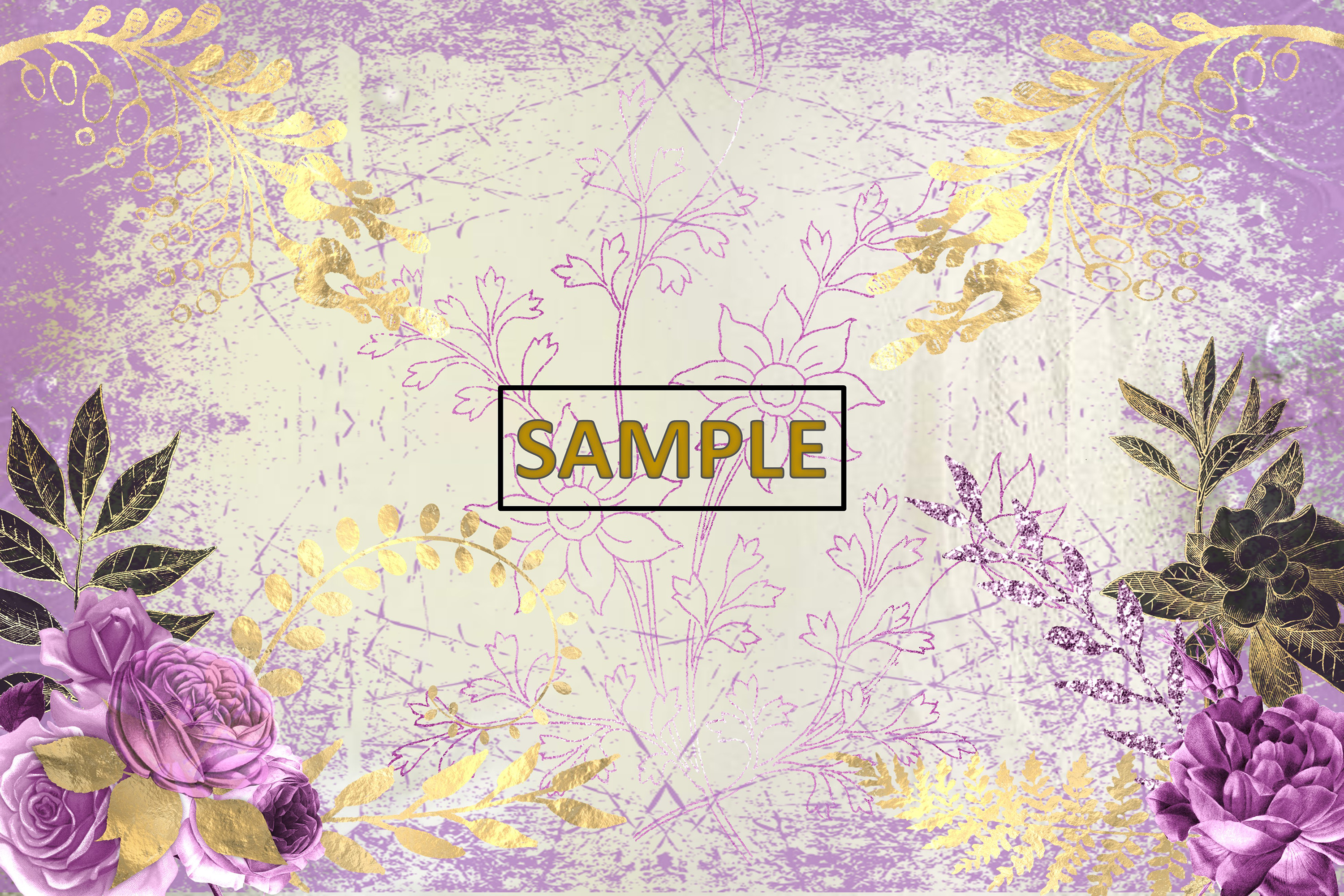 Gothic Garden Backgrounds A4 Letter Size JPEG & PDF example image 4