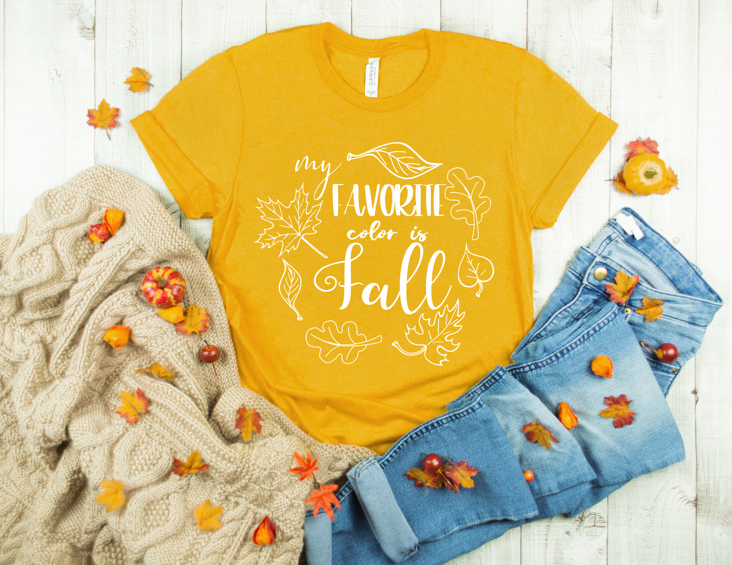 My Favorite Color is Fall, Fall svg, Happy Fall svg example image 2