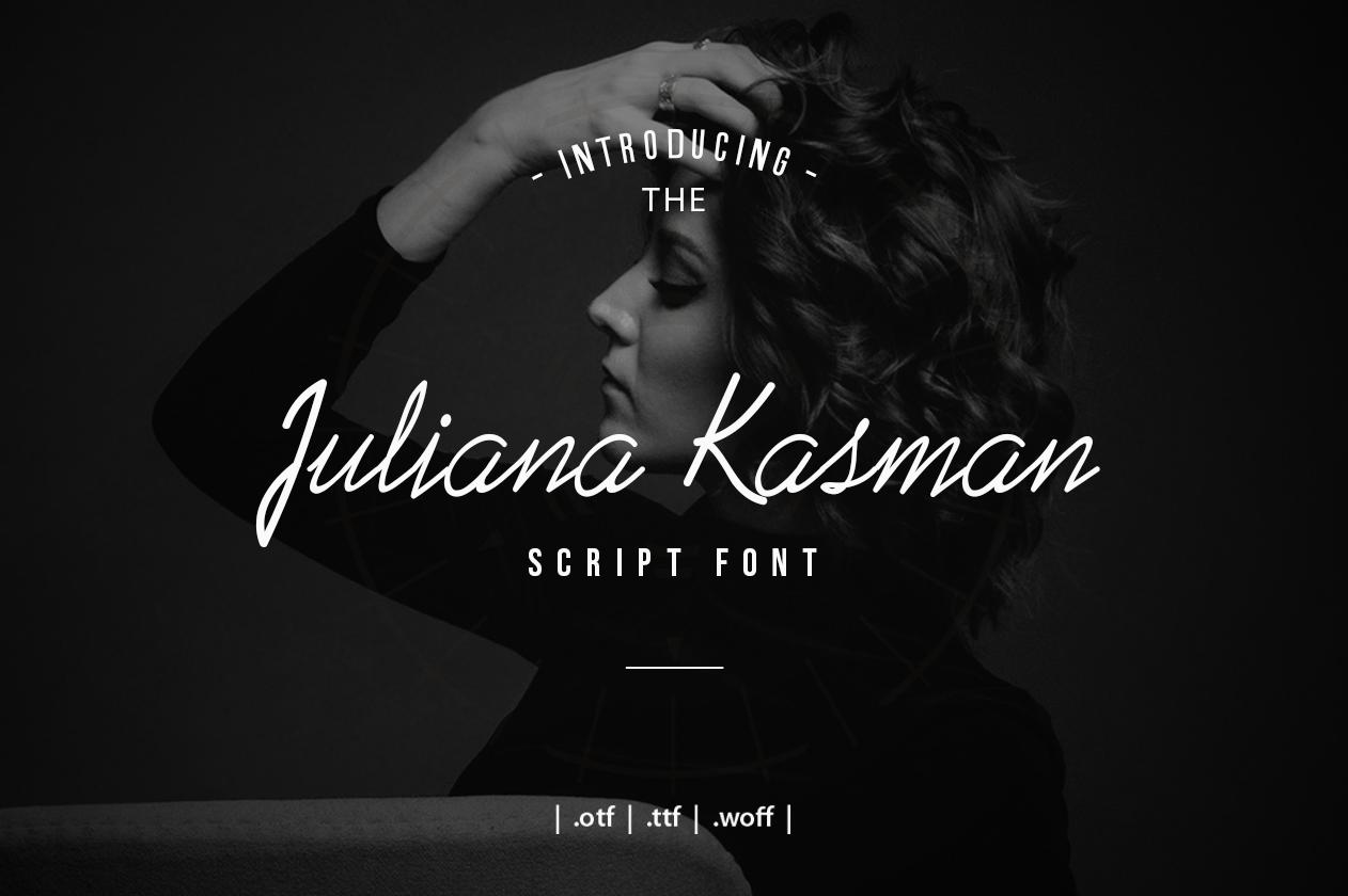 Juliana Kasman Script example image 1