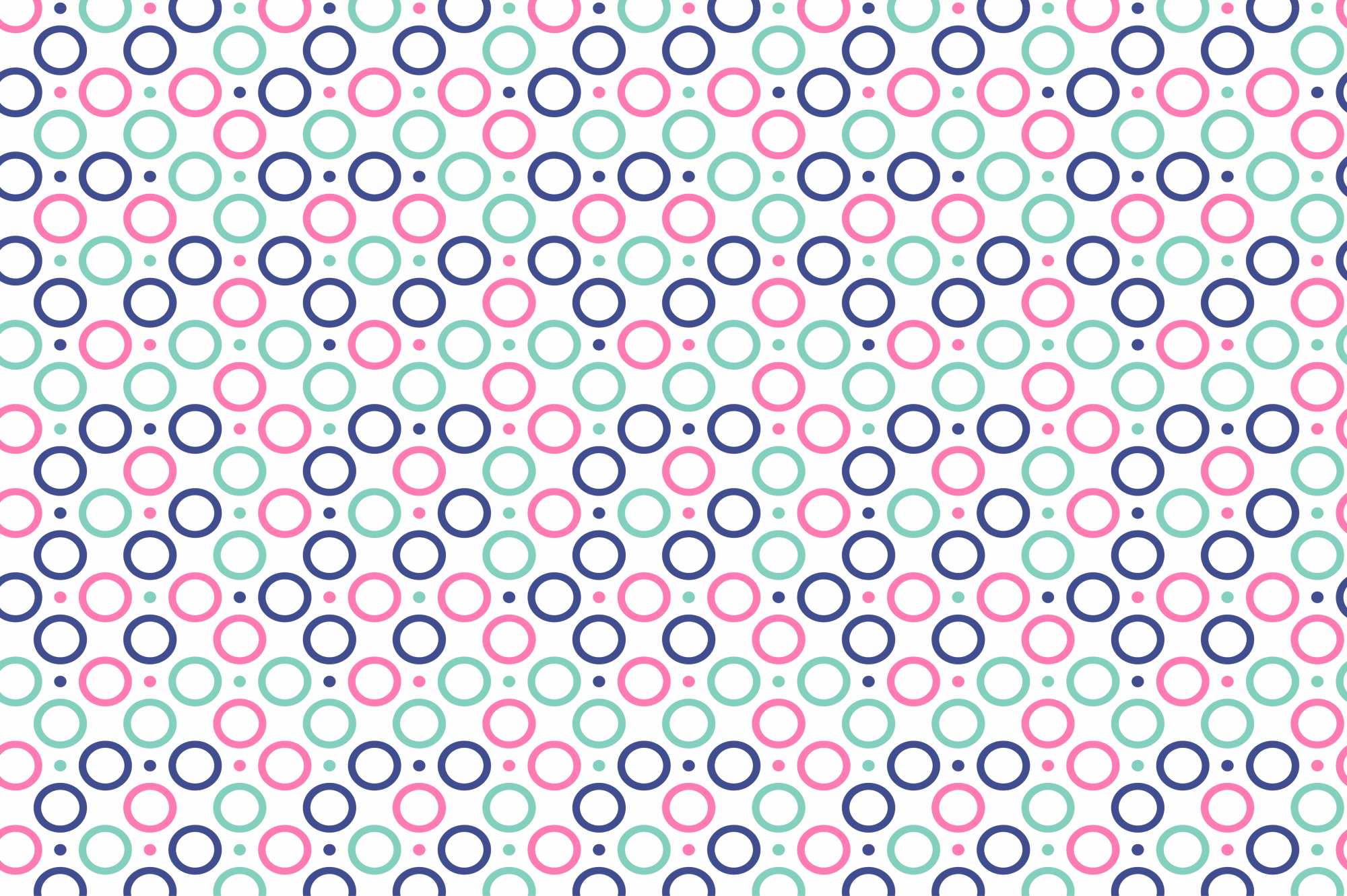 Color dotted memphis patterns. example image 4
